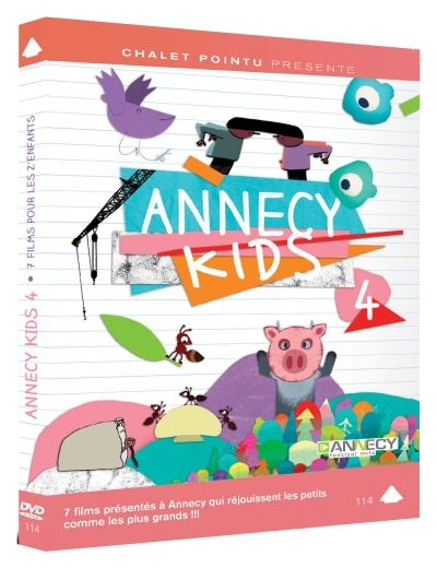 Annecy Kids. 4 / Films d'animation |