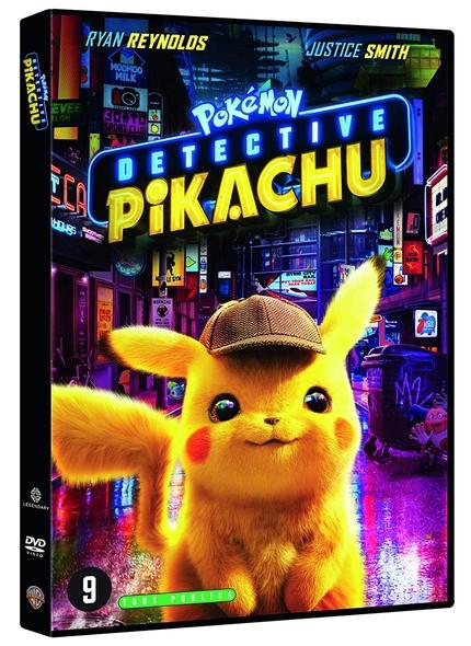 Pokémon - Détective Pikachu . DVD / Rob Letterman, réal.  | Letterman, Rob. Scénariste