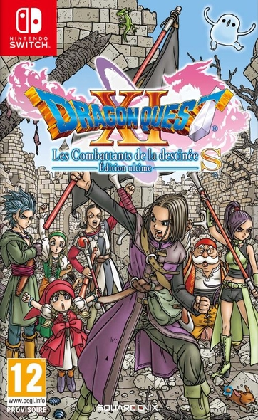 Dragon Quest XI : Les Combattants de la Destinée - Edition Ultime (SWITCH)