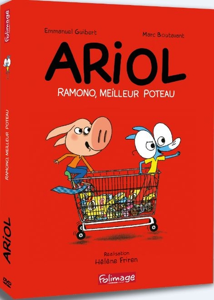 Ariol : Ramono, meilleur poteau | Friren, Hélène. Réalisateur
